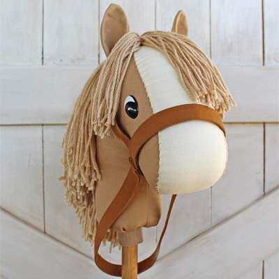 horse on a stick