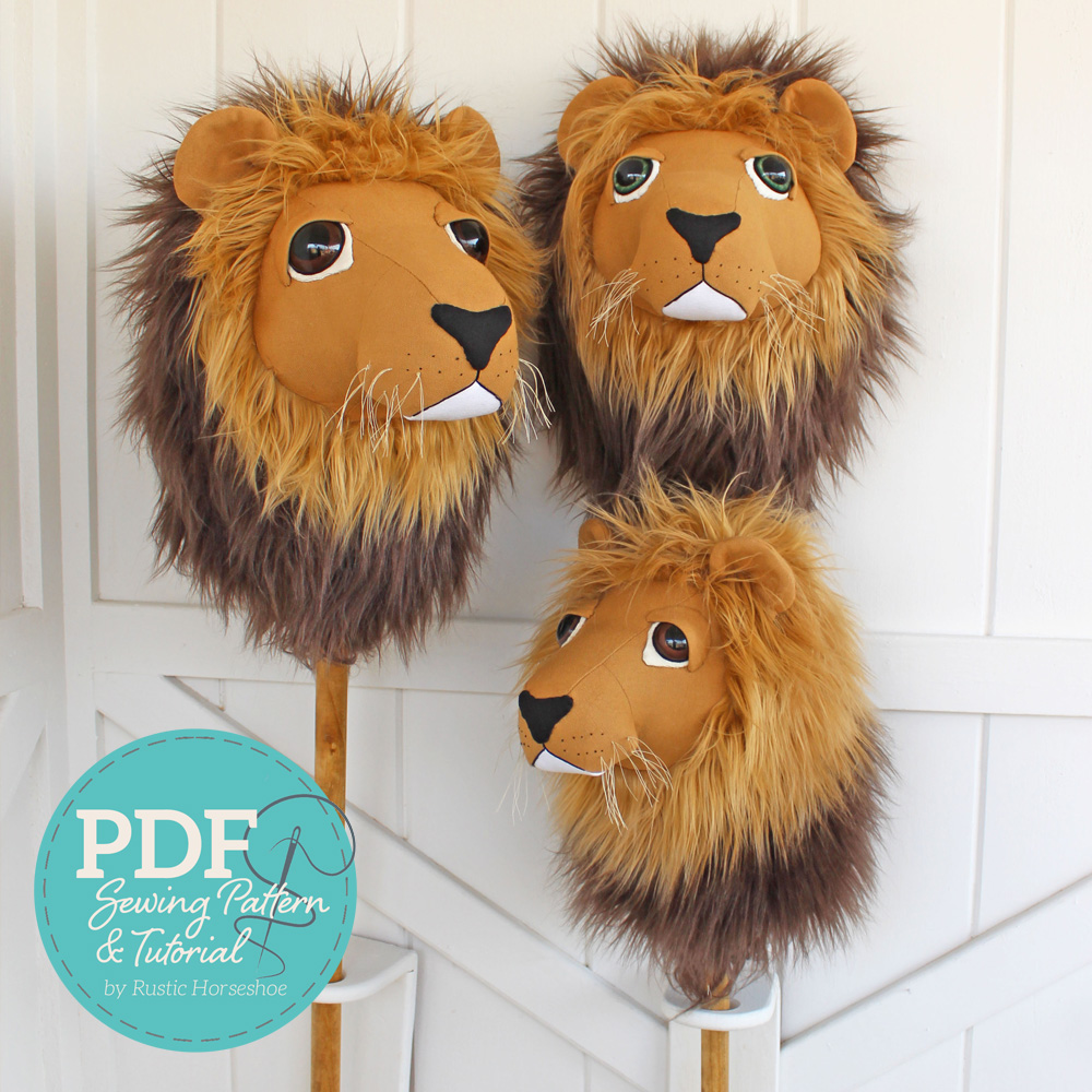 Lion Wall Decor and Hobby Horse